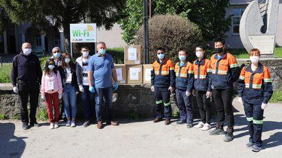 """""""Rakita"""" donirala zaštitne maske meštanima Brestovca, Metovnice i Slatine"""
