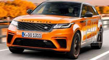 Range Rover Velar SVR stiže sledeće godine