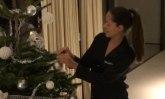 Raskošno i bajkovito: Ovako je Ana Ivanović ukrasila svoj dom za praznike