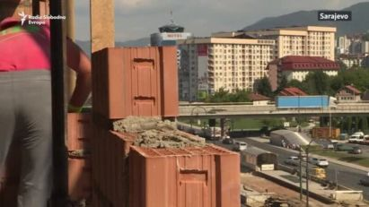 Rastu zgrade, a rastu i cijene u Sarajevu