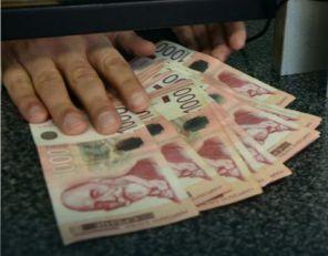 Rekord dinara, kurs sutra 118,93
