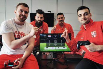 Reprezentacija Srbije vicešampion Evrope u PES-u