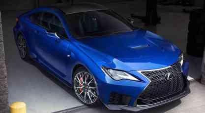 Restilizovani Lexus RC F za 2020.