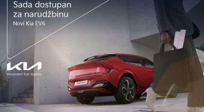 Rezervacije za novi Kia EV6 dostupne i u Srbiji