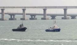 Rusija vratila Ukrajini tri vojna broda zarobljena pre godinu dana