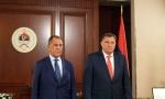 Ruski ministar: Zapadni Balkan ne treba ponovo pretvoriti u arenu; Dodik: Odbacujem tvrdnje o lošem uticaju Rusije (FOTO/VIDEO)