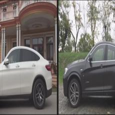 SAMI ODLUČITE - Mercedes GLC Coupe protiv BMW X4 (VIDEO)