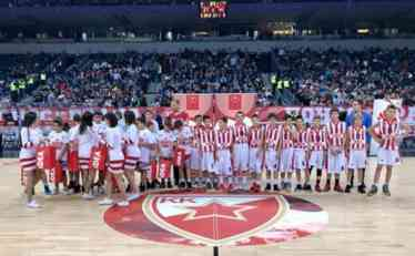 ŠAMPIONI U ARENI: Mladi košarkaši iz Užica gosti Zvezde na meču sa CSKA