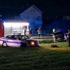 SCENE KAO IZ HOLIVUDSKIH FILMOVA KOD NOVOG SADA: Bivši robijaš ukrao auto, odmah krenula jurnjava sa policijom (VIDEO)