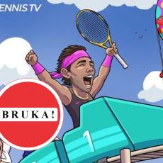 SRAMOTA: ATP karikaturom PONIZIO Đokovića (FOTO)
