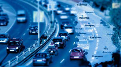 Saobraćaj umerenog intenziteta, zadržavanja na prelazima do 20 minuta
