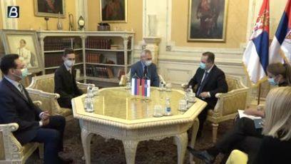 Sastanak Dačića sa ambasadorom Rusije