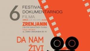 Šesti festival dokumentarnog filma u Zrenjaninu