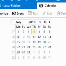 Setting up Thunderbird/Lightning to use Google Calendar