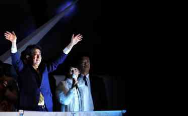 Šinzo Abe ubedljivo osvojio novi mandat