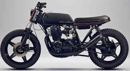 Skandinavska lepotica: Honda CB650 iz Švedske