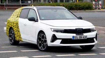 Snimljen novi Opel Astra Sports Tourer