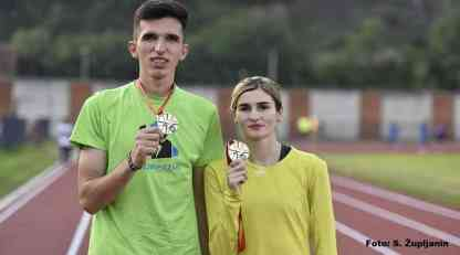 Srbija open: Elzan Bibić i Amela Terzić najbolji na 1.500 metara