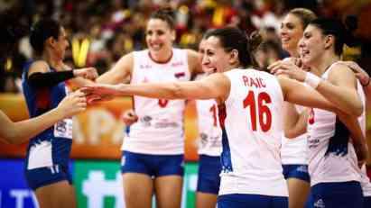 Srpske odbojkašice u polufinalu Svetskog prvenstva