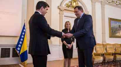 Šta je Dodik poručio novom ambasadoru SAD