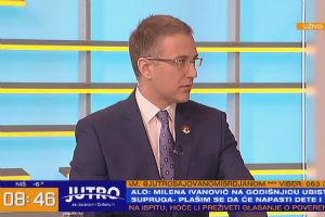 Stefanović o skupu za Olivera: Ljudi imaju pravo da odaju poštu na način na koji to žele