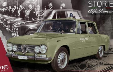 """Storie Alfa Romeo"", peta epizoda: Alfa Romeo sportske limuzine u službi zakona"