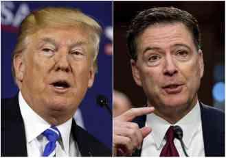 TRAMP OSUO PALJBU PO FBI: Oni su kovali zaveru protiv mog izbora za predsednika, a Komi je bio kolovođa te jazbine lopova