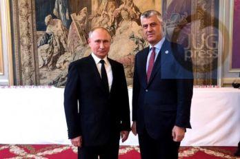 Tači objavio da je razgovarao sa Putinom