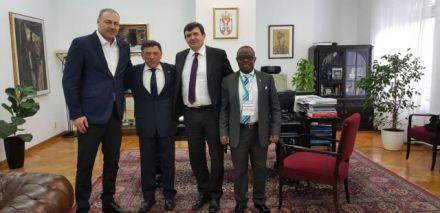 Tanasković i predstavnici ISF-a gosti Ministarstva spoljnih poslova