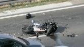 Teška saobraćajna nezgoda kod Arene - povređen motociklista VIDEO