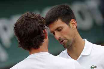 The first candidate for Djokovic coach is one of the loathed players with the Serbian fans