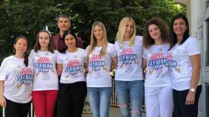 Tim Srbije na Olimpijskim igrama robotike u Meksiko Sitiju