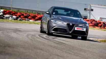 TopSpeed test: Alfa Romeo Giulia QV