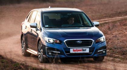 TopSpeed test: Subaru Levorg 2.0i