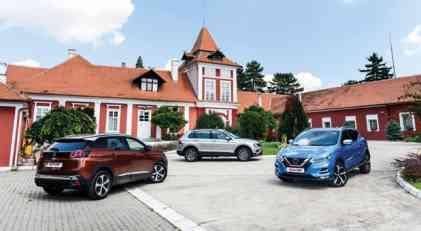 TopSpeed uporedni test: Peugeot 3008 vs Nissan Qashqai vs VW Tiguan