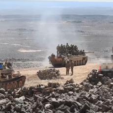 Topi se teritorija IS u Svejdi: Sirijska vojska na pragu konačne pobede u užarenoj pustinji (VIDEO)