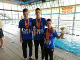 Trojica plivača niškog kluba Sveti Nikola doplivali do 12 medalja