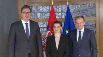 Tusk pozdravlja razumne poteze Srbije