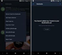 Twitter testira Bookmarks funkciju za Android