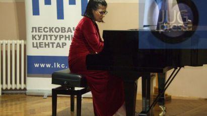U Leskovcu nastupala pijanistkinja Marija Timotijević