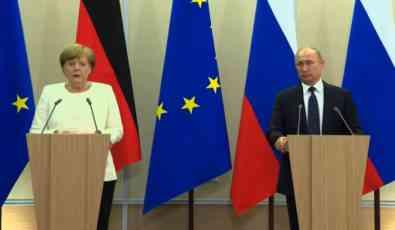 U subotu sastanak Putina i Merkelove