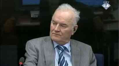 UN Tribunal Appeals Chamber rejects Mladic request