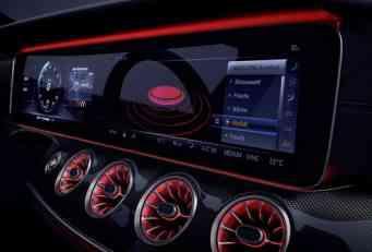 Unutrašnjost novog Mercedesa CLS