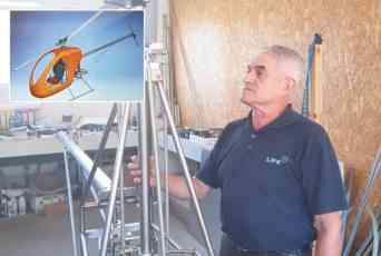 VELIKI PODUHVAT U KRAGUJEVCU: Srpski helikopter iz šumadijske garaže