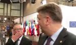 VIDEO: Junker uštinuo hrvatskog premijera i poslao mu poljubac