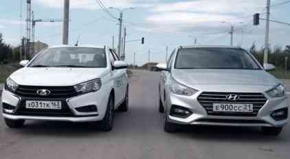 VIDEO: Koji je automobil bolji - Lada Vesta ili Hyundai Solaris?