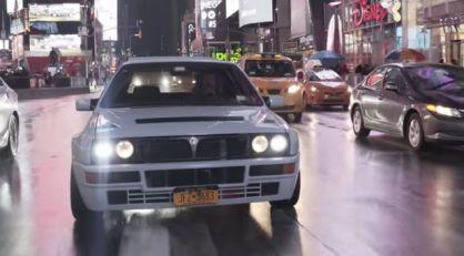 VIDEO: Lancia Delta HF Integrale Evo u akciji po ulicama Njujorka