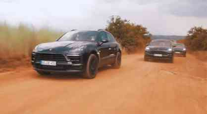 VIDEO: Obnovljeni Porsche Macan na testiranju u Africi