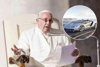 (VIDEO) PAPINA ZVER NA AUKCIJI: Čelnik Vatikana dobio sportska kola na poklon, prodaje ih da pomogne hrišćanima