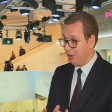 (VIDEO) VUČIĆA IZNENADILI PITANJEM O RUSKOJ NOVINARKI: Jesmo li stvarno u programu, NIJE SKRIVENA KAMERA?!